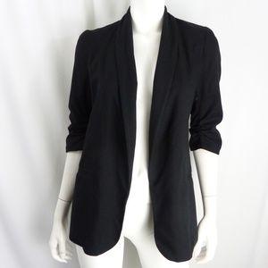 Bar III Women's Size S Ruched Sleeve Sydney Blazer